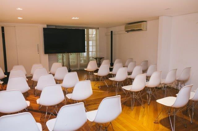 Salão do Balcão em formato auditório