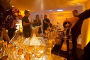 O bar da Class Alta Coquetelaria