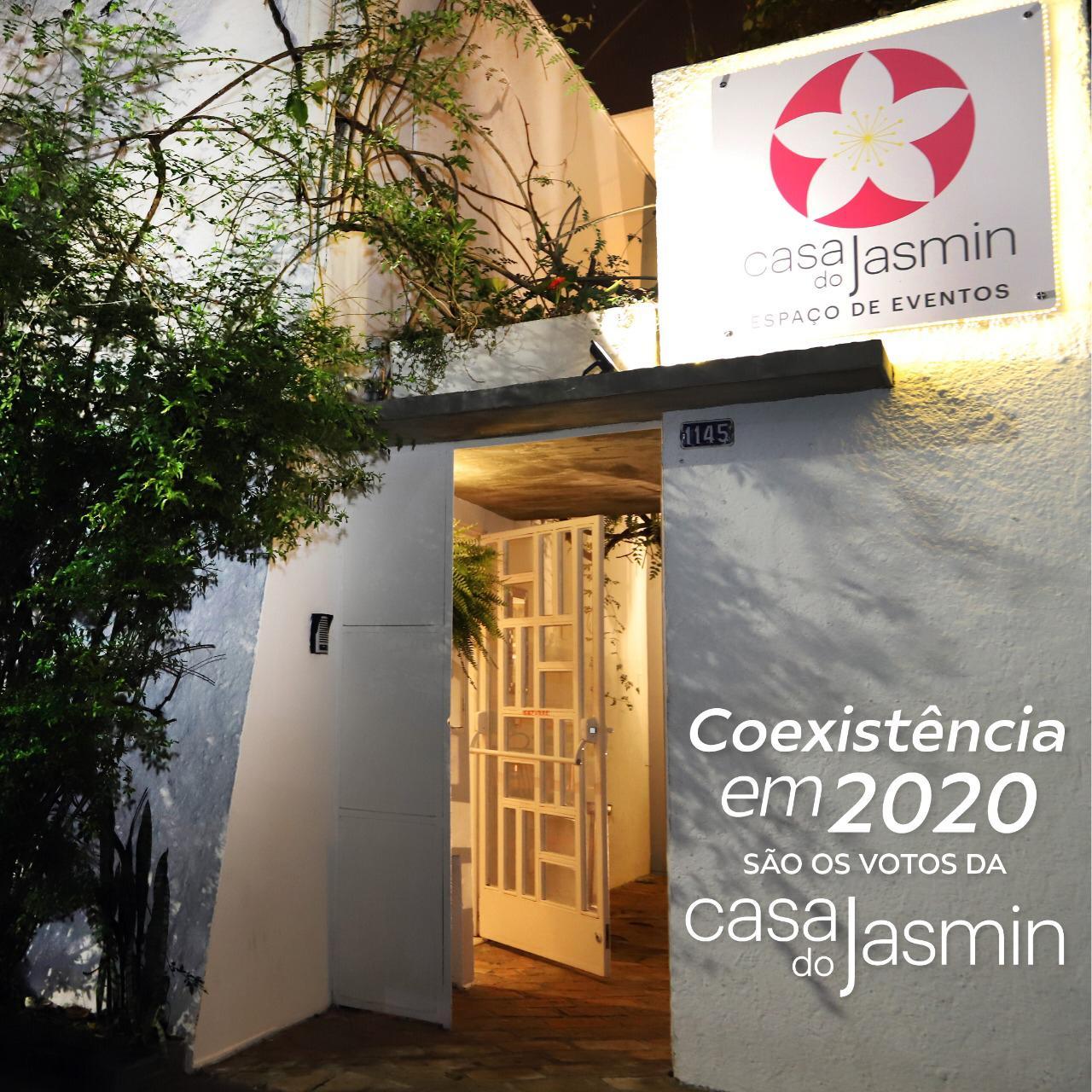Coexistência entre pessoas que vivem e pensam de formas diversas: esse é o desejo da Casa do Jasmin em 2020!