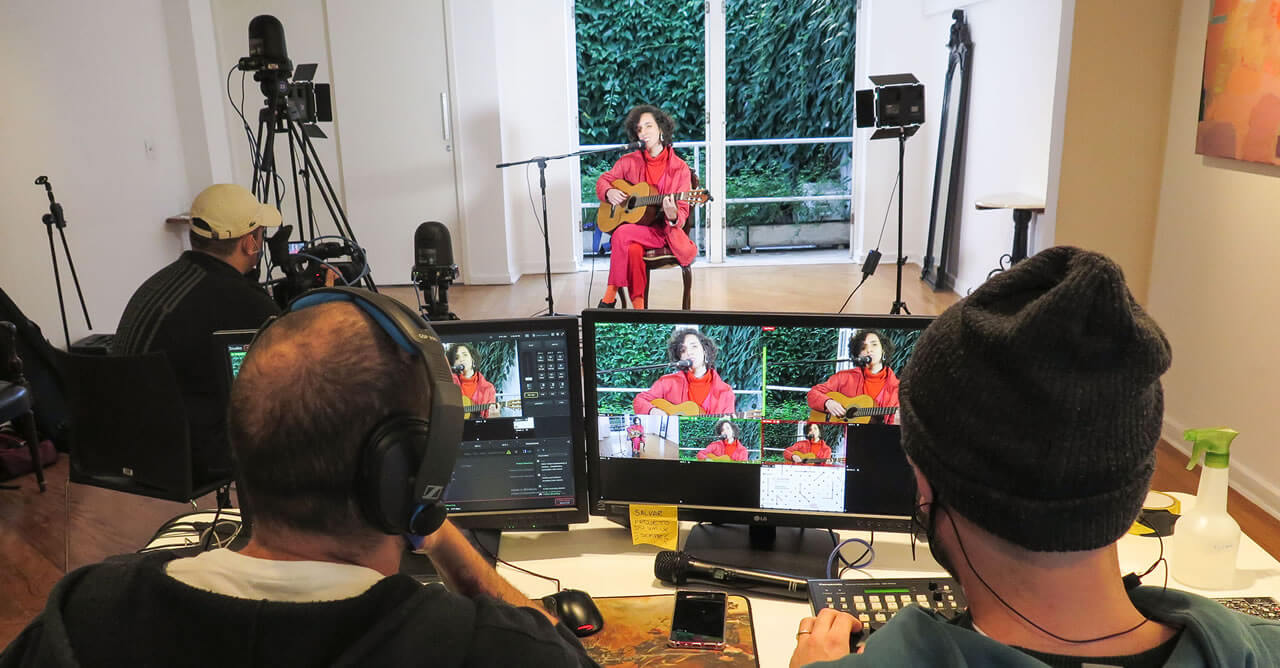Gravando! Casa do Jasmin: Espaço para transmissões ao vivo e filmagens